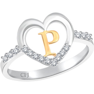 Classic Powerful 'P' for Women [CJ1231FRRG16]
