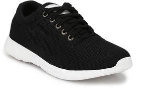NIK Black casual sneaker shoes
