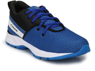 royal blue sport running shoes