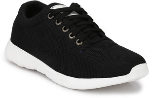 NIK Black casual sneaker shoes