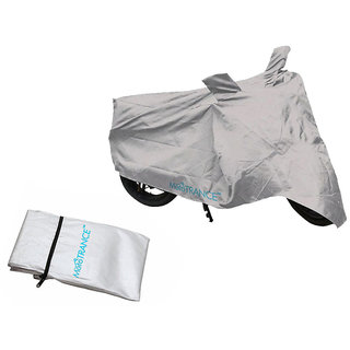 Mototrance Silver Bike Body Cover For Enfield GT