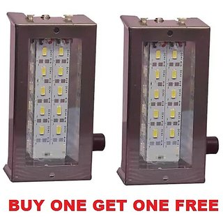 BUY one get one free 10 led Metal Emergency Light