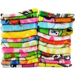 angel homes pack of 20 cotton face towel (A1)