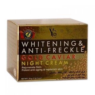 YC WHITENING  ANTI-FRECKLE GOLD CAVAIR NIGHT CREAM.