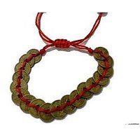 Feng Shui Wealth Coin Bracelet For Success And Wealth Feng Shui Coins