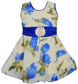 Prince  Princess Baby Girl's cotton Party Dress