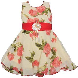 c4f8b67d880 Buy Meia for girls Pink floral party wear Net dress Online - Get 70% Off