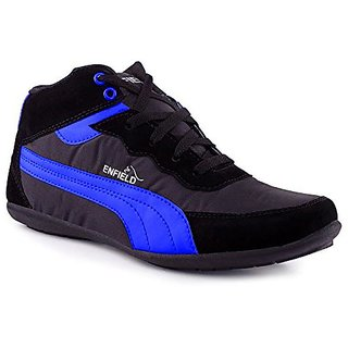 00RA MEN'S Casual Shoes Black  Blue Color Sports Wear Sneakers Shoes For Men
