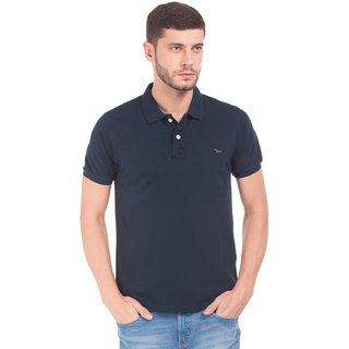 Flying Machine NAVY Men REGULAR Polo