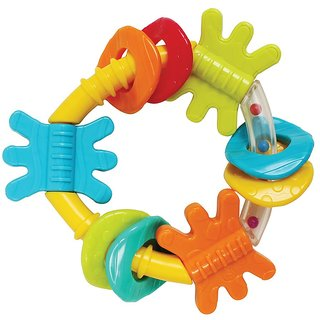 Playgro Triangle Rattle GN NEW DESIGN