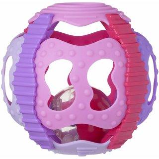 Playgro Junyju Shake Rattle And Roll Ball (Pink)