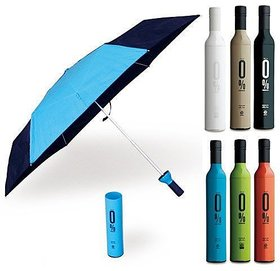 bottle umbrella , umbrella in bottle multi-color , unisex