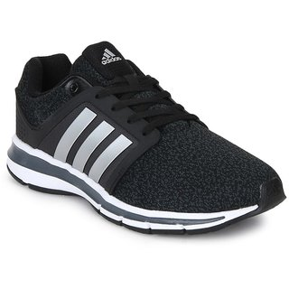 0fc38a4614b Buy Adidas Black Running Shoes For Men Online - Get 28% Off