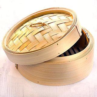 6 inches Diameter Bamboo Rice Steamer /Dimsum Box /Wanton Making Bamboo Steamer