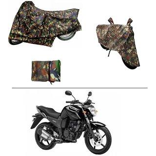 AutoStark Military Design Bike Body Cover For Yamaha FZ16