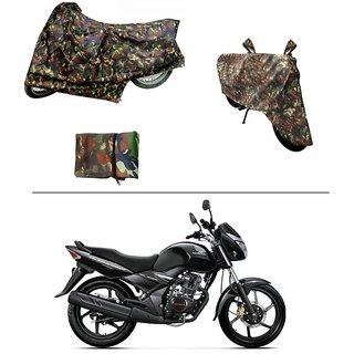 AutoStark Military Design Bike Body Cover For Honda CB Unicorn