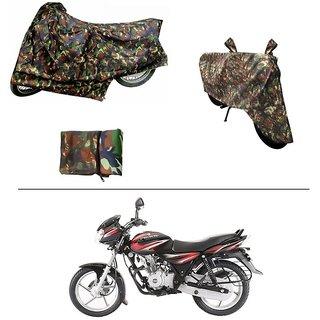 AutoStark Military Design Bike Body Cover For Bajaj Discover 125 DTS-i