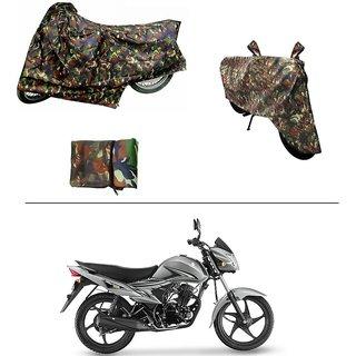 AutoStark Military Design Bike Body Cover For Suzuki Hayate