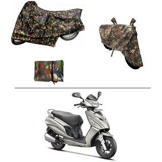 AutoStark Military Design Bike Body Cover For Hero Maestro
