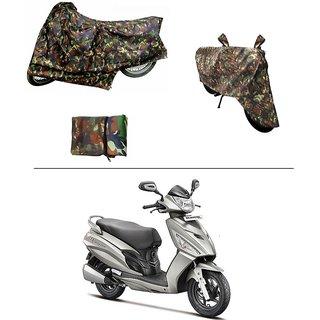AutoStark Military Design Bike Body Cover For Yamaha R15 s