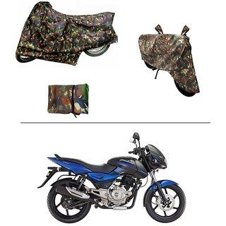 AutoStark Military Design Bike Body Cover For Bajaj Pulsar