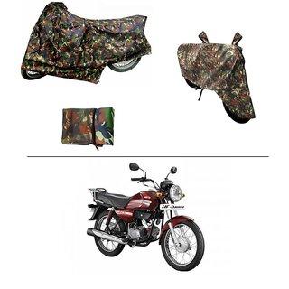 AutoStark Military Design Bike Body Cover For Hero Maestro Edge
