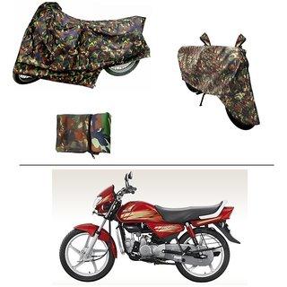 AutoStark Military Design Bike Body Cover For Hero HF