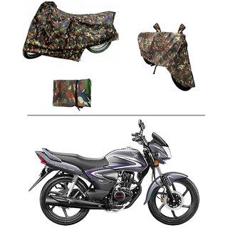 AutoStark Military Design Bike Body Cover For Hero Glamour