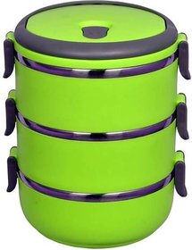 Hipe Lunch Box 3 container Parrot Colour