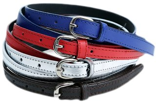 Tahiro Multicolour Leather Belts - Pack Of 4
