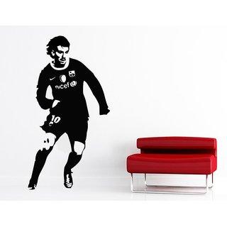 Wall Sticker Lionel Messi Design (Cover Area :- 18 X 60 inch)