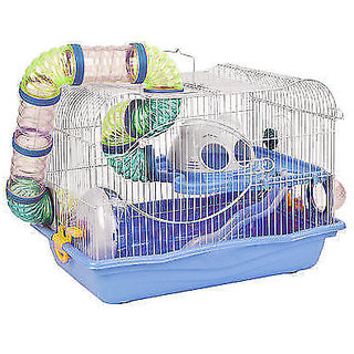 HAMSTER CAGE with Excercise wheel  Tunnel (imported) BPH 343