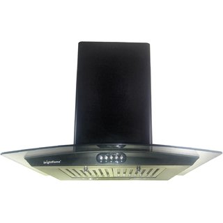 Bright Flame 1100 M3/Hr 60cm Baffle Filter Chimney