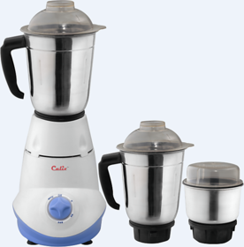 Calix CMG-03   550W Mixer Grinder with Whip feature - 3 jar
