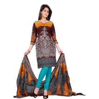 Florence Multicolor Ananya vol-3 Cotton Printed Dress Material (SB-2655-OCT) (Unstitched)