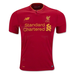 new liverpool club dry fit red half sleeve jersey with shorts