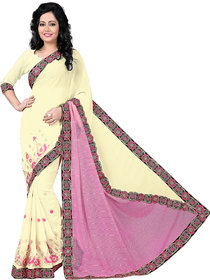 party wear embrodery saree