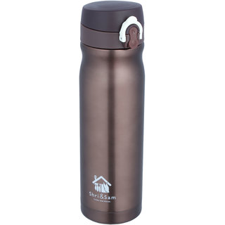 Krayon Vacuum Insulated Stainless Steel Bottle/Flask 500 ml-Ideal for Commuting Travel Car School or office