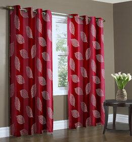 Payal Designer  door curtain (4x7 Feet ) Color Red