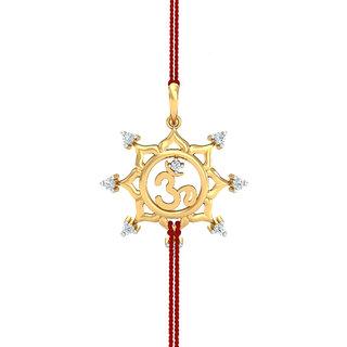 Buy floral om diamond rakhi pendant online get 40 off floral om diamond rakhi pendant mozeypictures Image collections