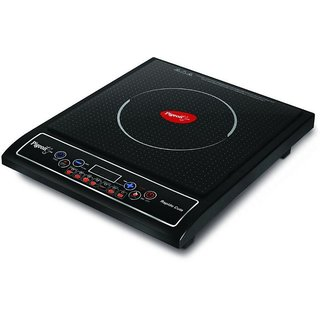 Pigeon Rapido Cute Induction Cooktop  (Black  Push Button)