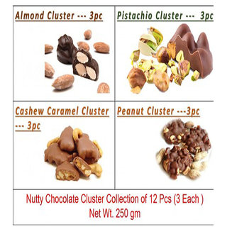 Healthy Nuts Chocolate Cluster Collection-250 Gram