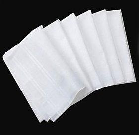 Set of 12 cotton handkerchief for Men