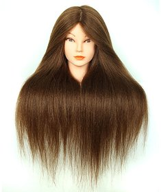 Ritzkart 100 Orignal Soft Hair Practise / Cutting / Coloring /Makeup/ Dummy For Trainers