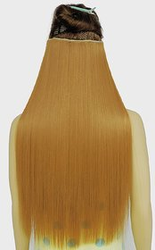Ritzkart Hair Extension 25 Inc GOLDEN Strait Extension Original