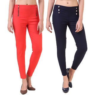Christy's Collection Women's Multicolor Jeggings
