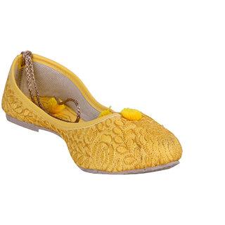 Meia Womens Yellow Jutti