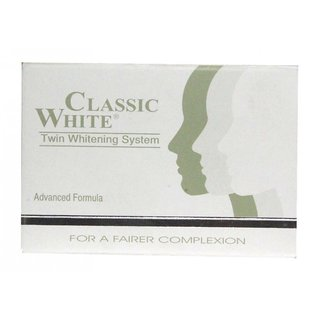 CLASSIC WHITE SKIN WHITENING SOAP (PACK OF 6 pcs