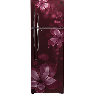 LG  GL-T302RSOY  284L Double Door Frost Free Refrigerator