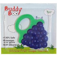 Buddyboo Silicone Fruit Shape Teether,Purple